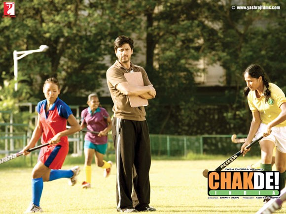 Shahrukh Khan is the impossibly good Muslim hero in Chak de India! (2007), a prototype he would take several degrees further in 2010 in the film My Name is Khan