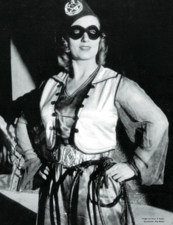 Maryanne Evans, better known by her screen persona as Fearless Nadia